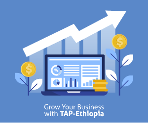 Grow Your Business With TAP Ethiopia (300x250px) Banner